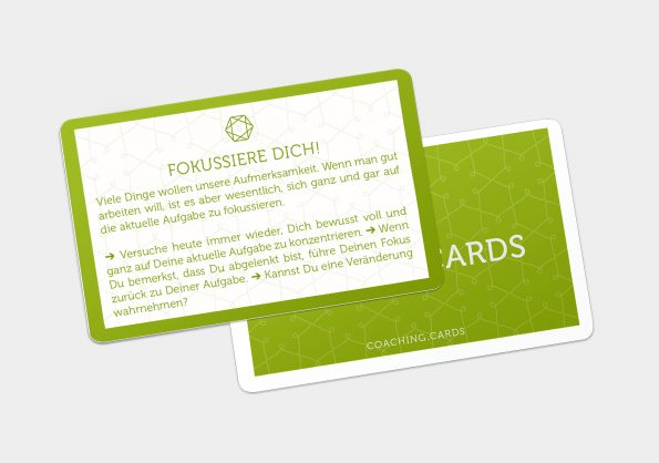 CODING.CARDS –fokussiere dich