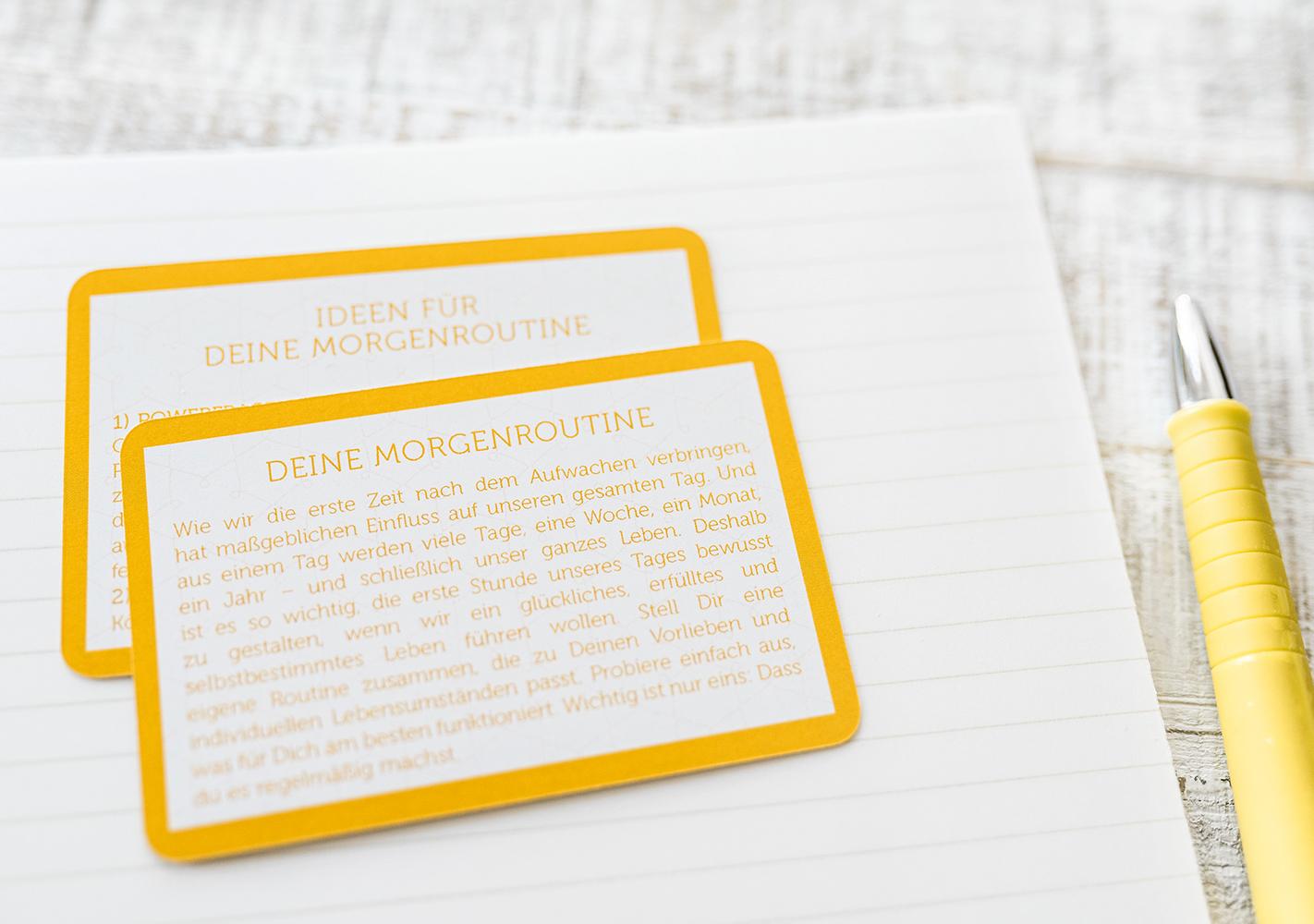GetUp – Powerfragen für Deine Morgenroutine   COACHING.CARDS